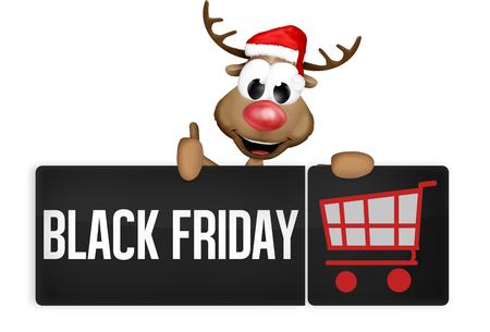 Black Friday Black Button 版權商用圖片