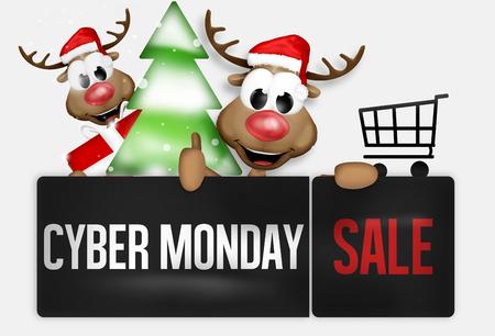 monday: Cyber Monday Stock Photo
