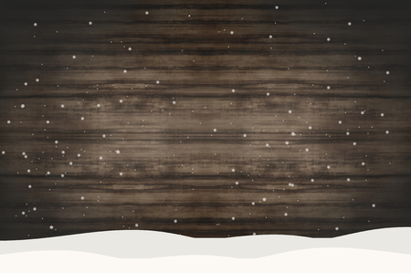 wood backgrounds: Snow wood Stock Photo