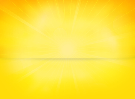 yellow: lights shiny sun background Stock Photo
