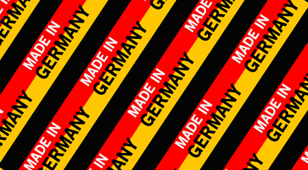 made in germany: made in germany building site background Stock Photo