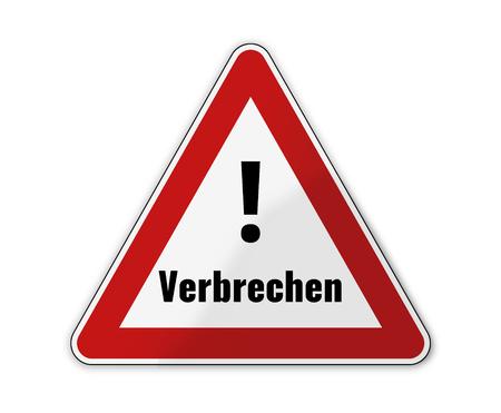 german language for crime
