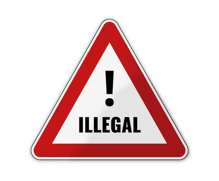 exceeded: german language for illegally