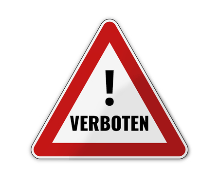 exceeded: german language for banned