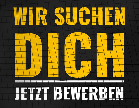 job posting: German language for We are looking for you