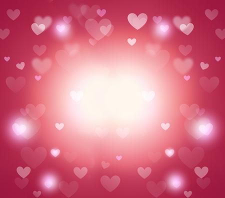 hearts background Banque d'images