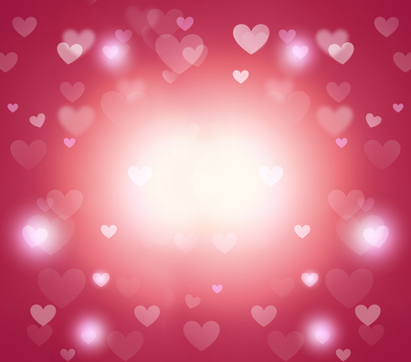 eroticism: hearts background Stock Photo