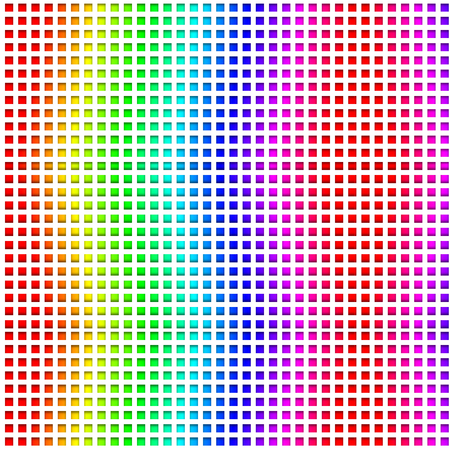 spectre: abstract color grid
