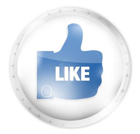 like button: like button icon symbol