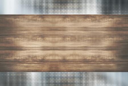 metallic: wood metallic Stock Photo