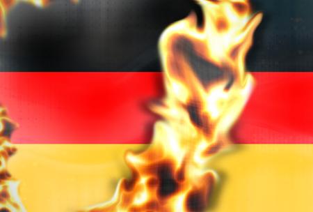 burning money: Fire Germany