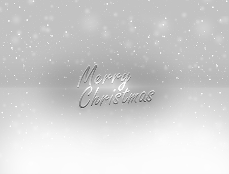 luxuriously: Winter Christmas Background Stock Photo