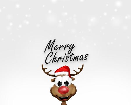 elegantly: Winter Christmas Background Stock Photo