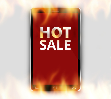 hot sale: Hot Sale Red Design Stock Photo