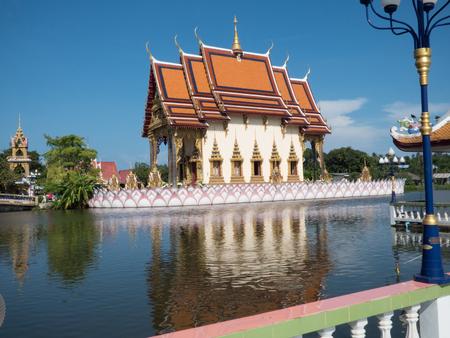 'koh samui': Temple Wat Plai Leam at Koh Samui
