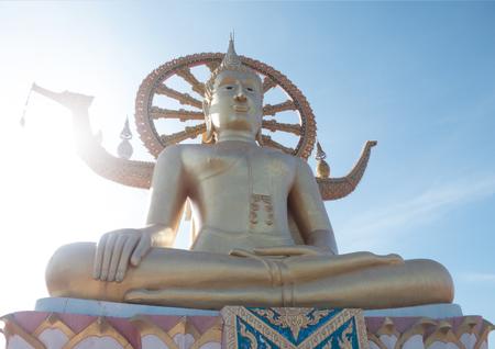 big buddha: Thailand sightseeing