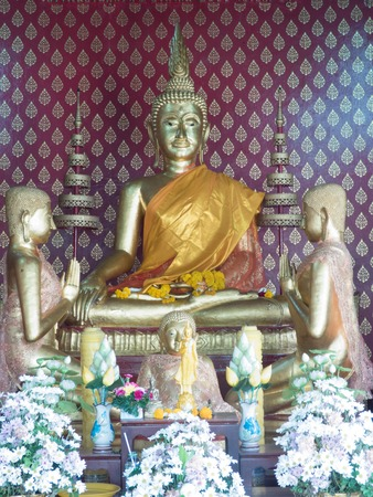 buddhism: Thailand Bangkok Buddhism Stock Photo