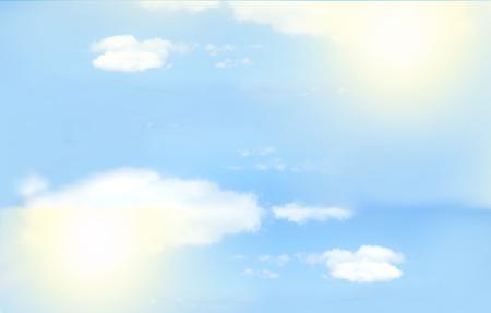 Light Blue Sky Standard-Bild - 51098725