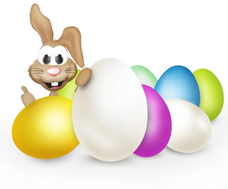 huevos de pascua: huevos de Pascua Conejo de Pascua
