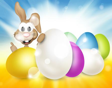 festive: festive easter eggs design