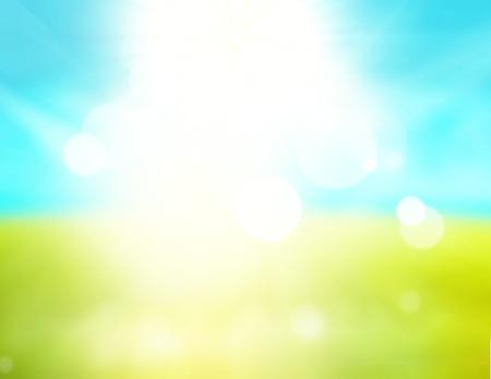 blue green background: blue sky background green grass design