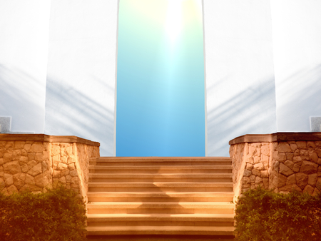 stairway to heaven: entrance to heaven