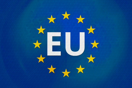 accession: europe flag background