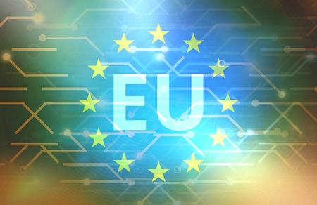 Europa Gegevens verbindingslijnen