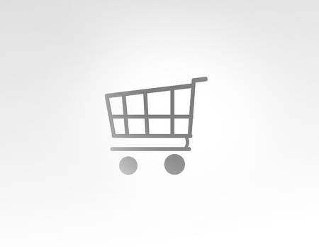 shopping cart: shopping cart Stock Photo