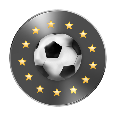 icon 3d: 3D Football Soccer Icon Symbol