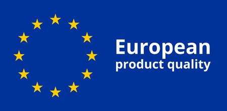 according: Europe Stars Blue Flag Symbol