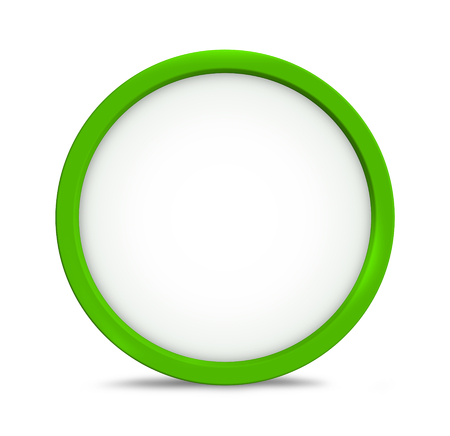 greeen: greeen round icon symbol copy space
