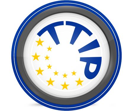 accession: TTIP 13 stars Transatlantic Trade and Investment Partnership symbol