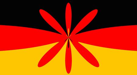 origen animal: Alemania Alemán fondo de la bandera de estado nacional