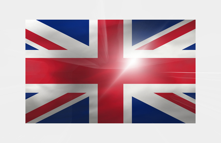 kingdom: United Kingdom Background flag Stock Photo