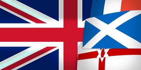 northern ireland: Northern Ireland Scotland France United Kingdom Flag