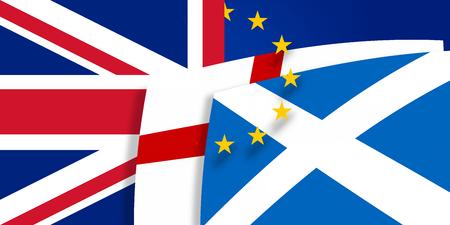 northern ireland: Northern Ireland Scotland Europe flags design
