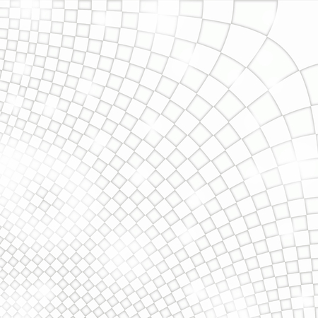 mathematically: abstract background grid white design Stock Photo