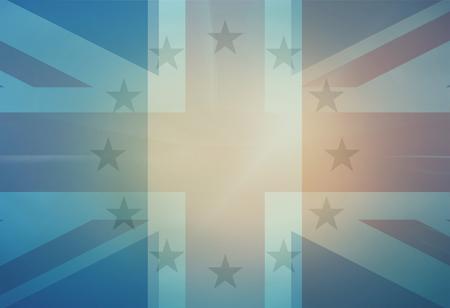 unite: Unite Kingdom missing Stars Background Stock Photo