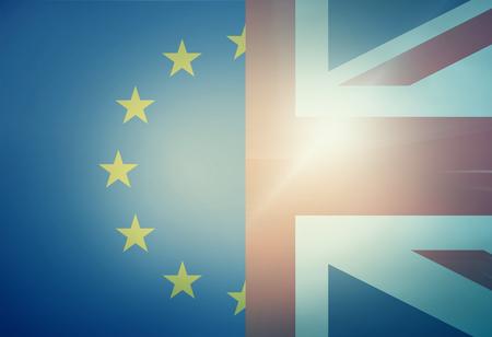 combined: Europe United KIngdom Combined Flag