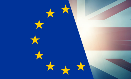 allied: EU UK states government outline modern map regular design