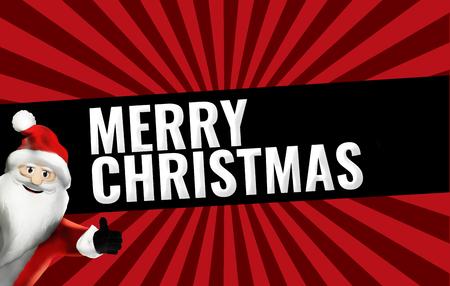Christmas Sale promotion display bold font