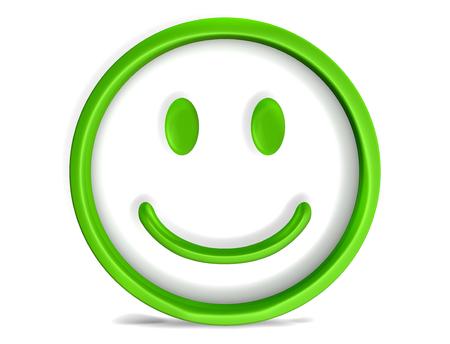 smile face: happy smile face smiley 3d render
