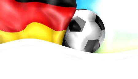 render: soccer fotoball germany 3d render