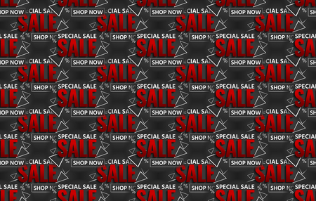 special sale: special sale black background texture font Stock Photo