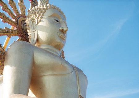 ko: Ko Samui, Thailand, December 15, 2015: Thailand ko Samui Big Buddha Sightseeing