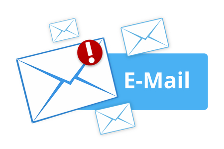 new message: Email light blue icon New Message
