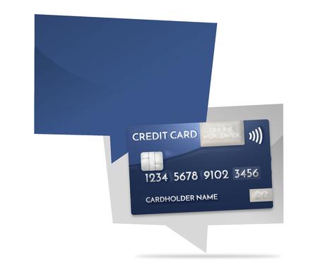 3d render: credit card modern prime example 3d render Stock Photo