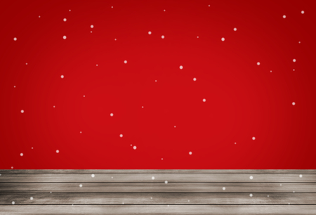 christmas grounds: red background snowflakes design