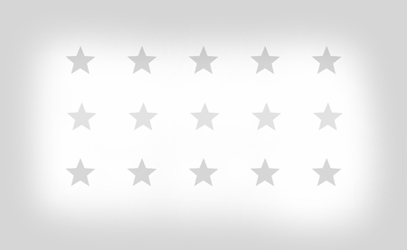 free vote: your text here white design with stars blank design